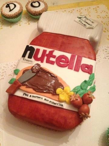 Carte Anniversaire Nutella.Gateau Anniversaire Nutella Gateaux Et Biscuits