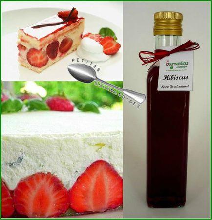 fraisier hibiscus estragon basilic