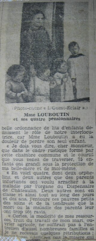 Article Marie Catherine COLLOBERT