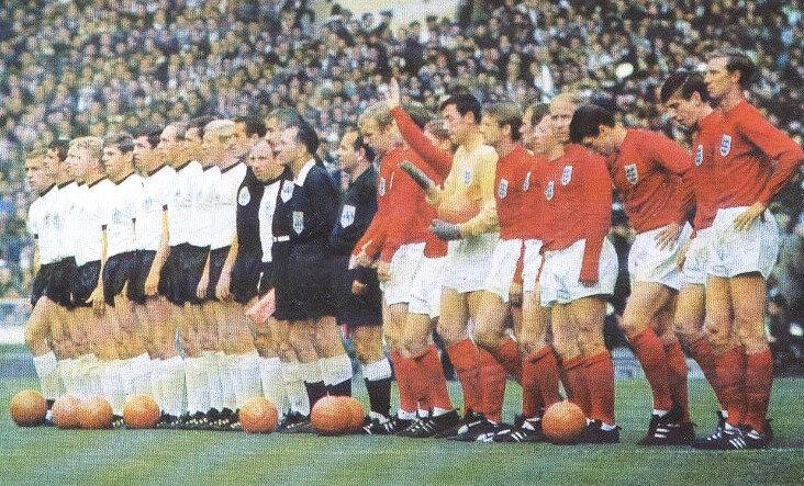 1966 07 30 Carte Allamgne Angleterre R