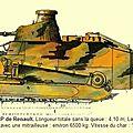 Les tanks : armes nouvelles