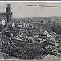 Bellac - Le Vincou - les tanneries - datée 1916