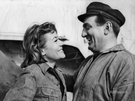 marcel-dole-annie-girardot-et-lino-ventura-le-bateau-d-emile-1962