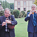 Michel & Jean-Michel au mariage de Solenne