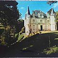 Echire - chateau du Loup datée 1998