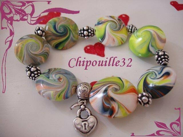 Bracelet swirl