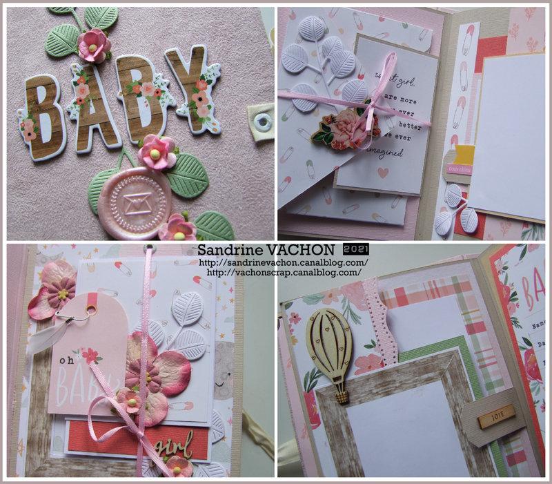Sandrine VACHON zoom mini album baby (1)