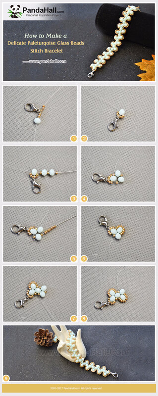 3-How-to-Make-a-Delicate-Paleturqoise-Glass-Beads-Stitch-Bracelet