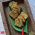 Cake salé aux légumes d'été - sans gluten