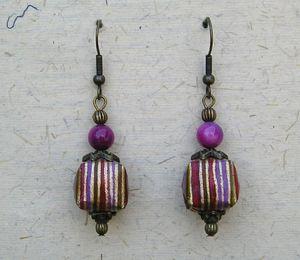 BO TARA A violet rayé V1
