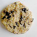 Cookies noisettes chocolat et crêpes dentelles #déficulinaire 9#