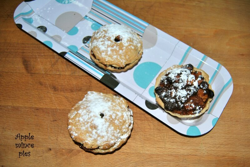 Apple mince pies 2