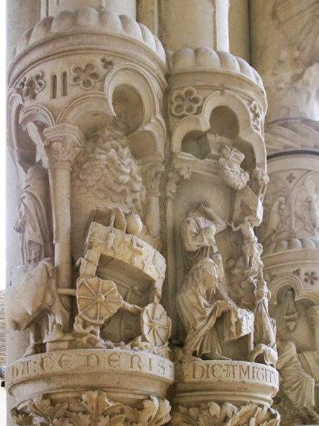 Cathédrale de Chartres Arche d'alliance