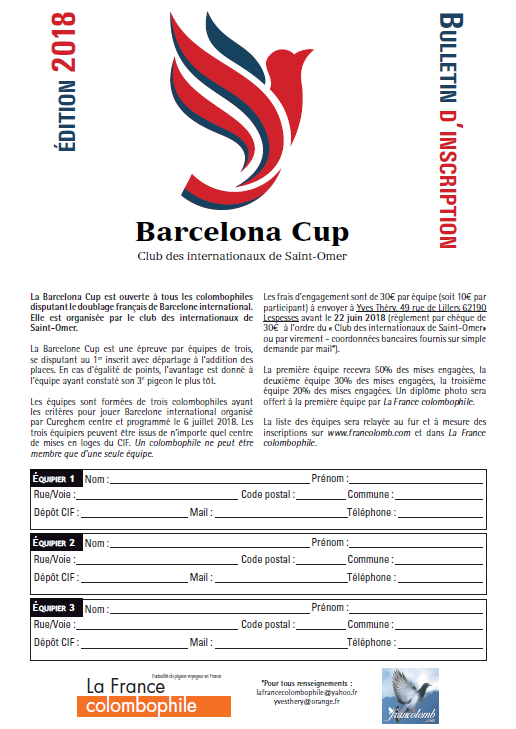 Barcelone Cup 2