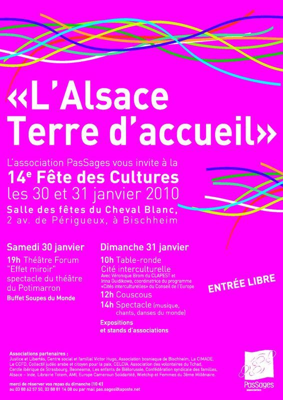 AFFICHE Fête des Cultures 2010