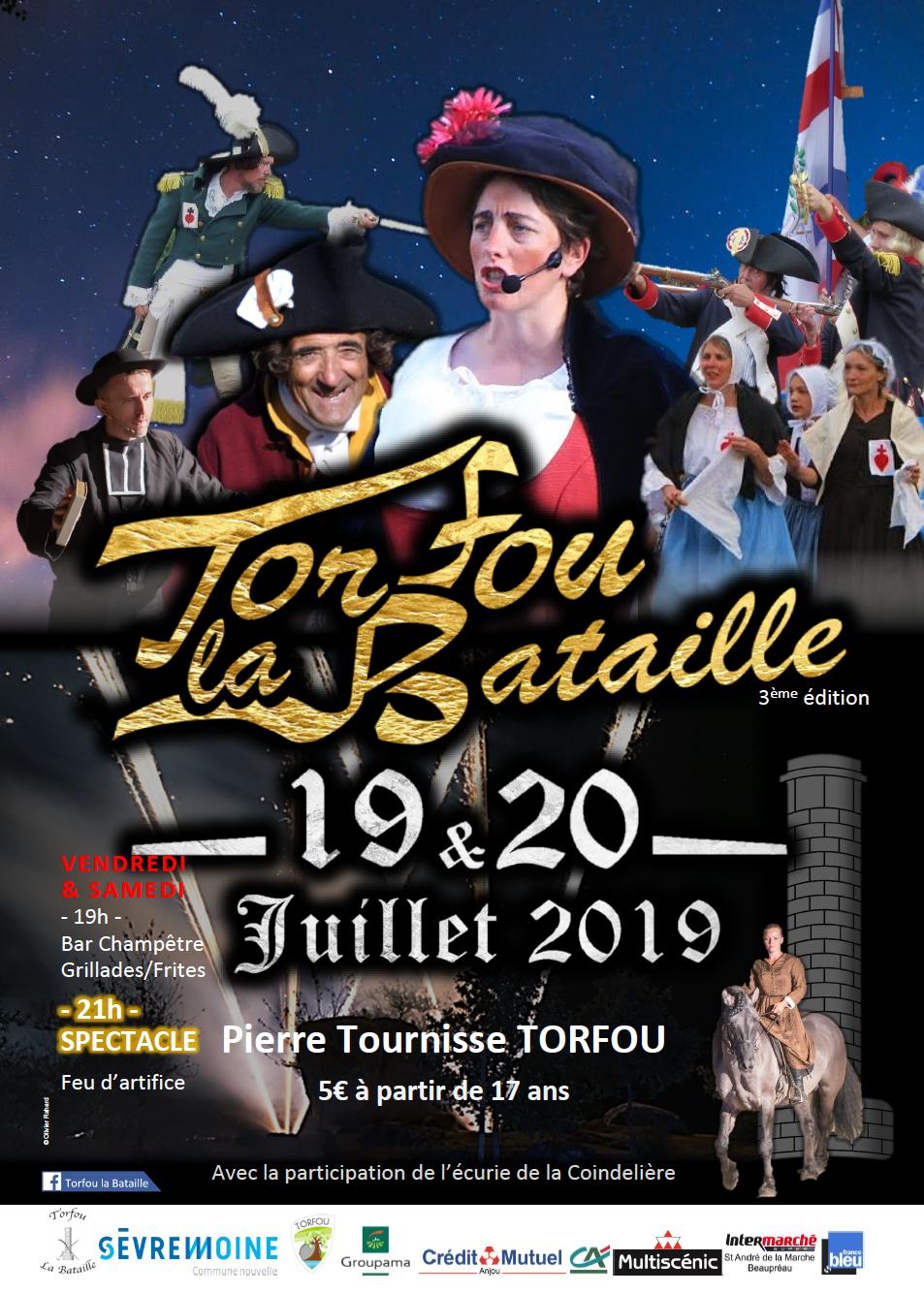 « Torfou la Bataille » est de retour les 19 et 20 juillet 2019