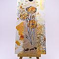 Carte coquelicots L'Atelier au soleil