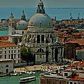 San Giorgio Maggiore depuis le sommet du campanile.