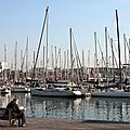 Barcelone, le port, Lecteur_6387