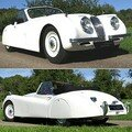 JAGUAR - XK 120 DHC - Drop Head Coupé - 1953