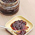 Confiture de piments - chili jam
