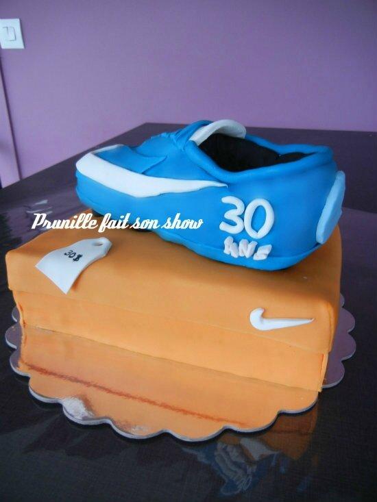 Carton Gateau Boîte Sa Krispies Chaussure Et En Recette Nike Rice 1qFda