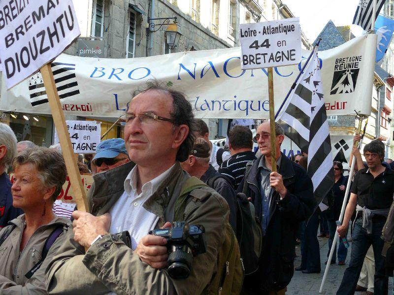 Les manifestants venus de Loire-Atlantique