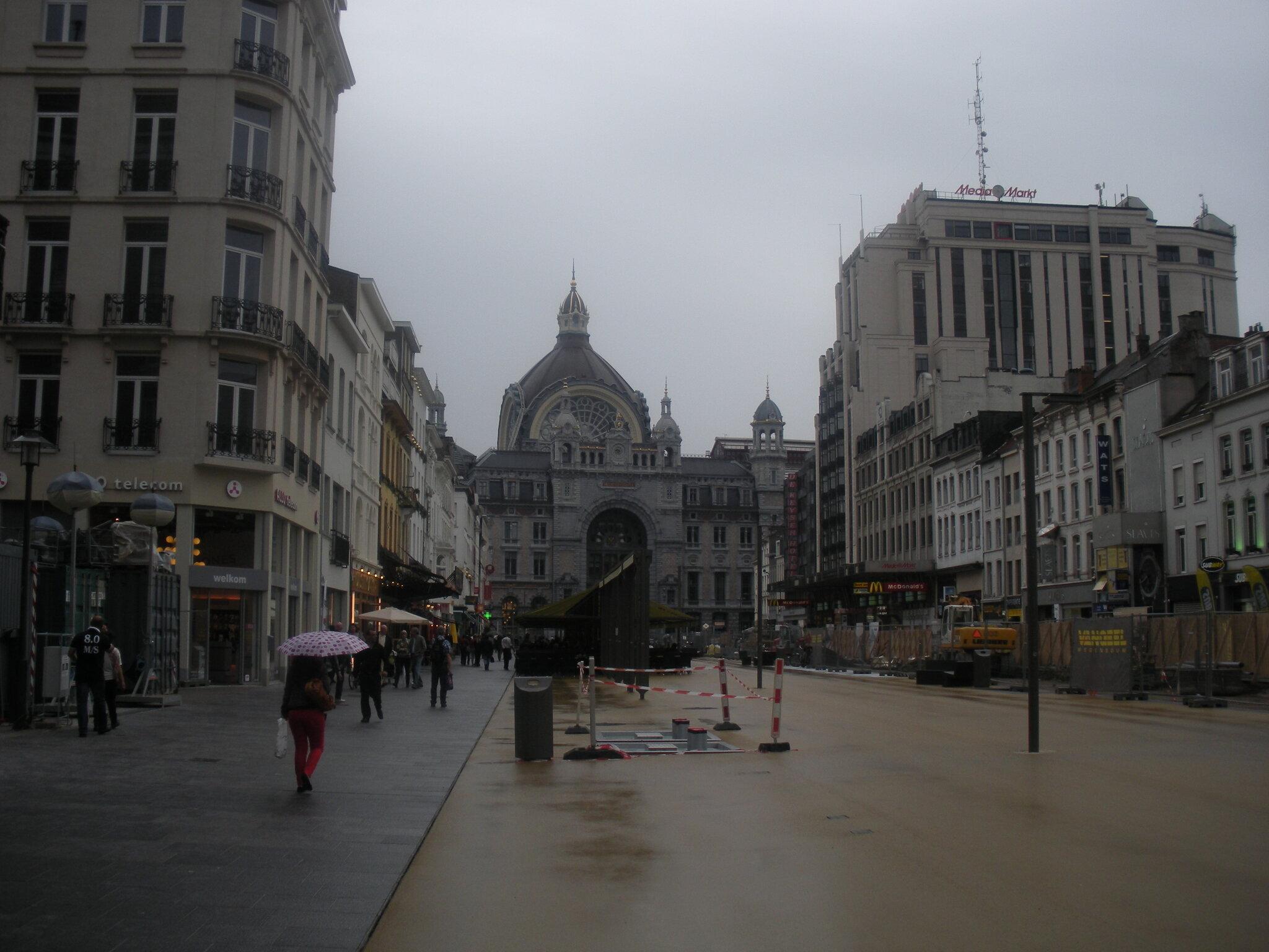 Anvers Central (Belgique) extérieur