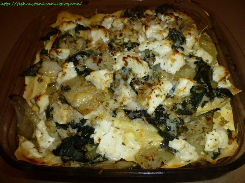 Lasagnes cabillaud, blettes et tome de chèvre frais (6)