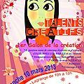 Talents créatifs à allennes-les-marais (59), salon de créateurs le 10 mars 2013, allennes les marais