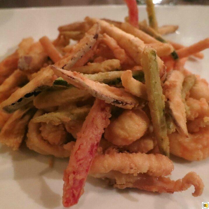 Grande friture de poissons et de légumes (1)