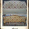 Rénovation d'un lit ancien