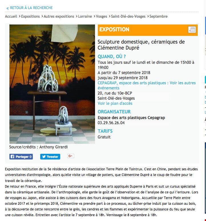 Expo Clémentine
