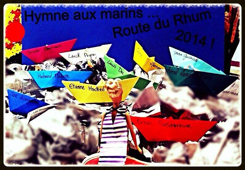 HYMNE AUX MARINS - Route du Rhum 2014