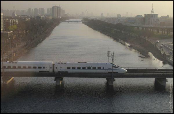 trains de Chine grande vitesse et petite vitesse 06