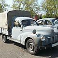 Peugeot 203 camionnette bachée