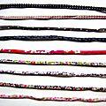 Rubans fins pour bracelets liberty