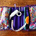 Chouette kit, crochet & couture : la trousse à ouvrage