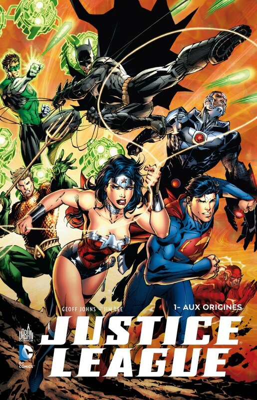 justice league 01 aux origines + BRD