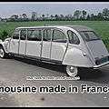 limousine made in france