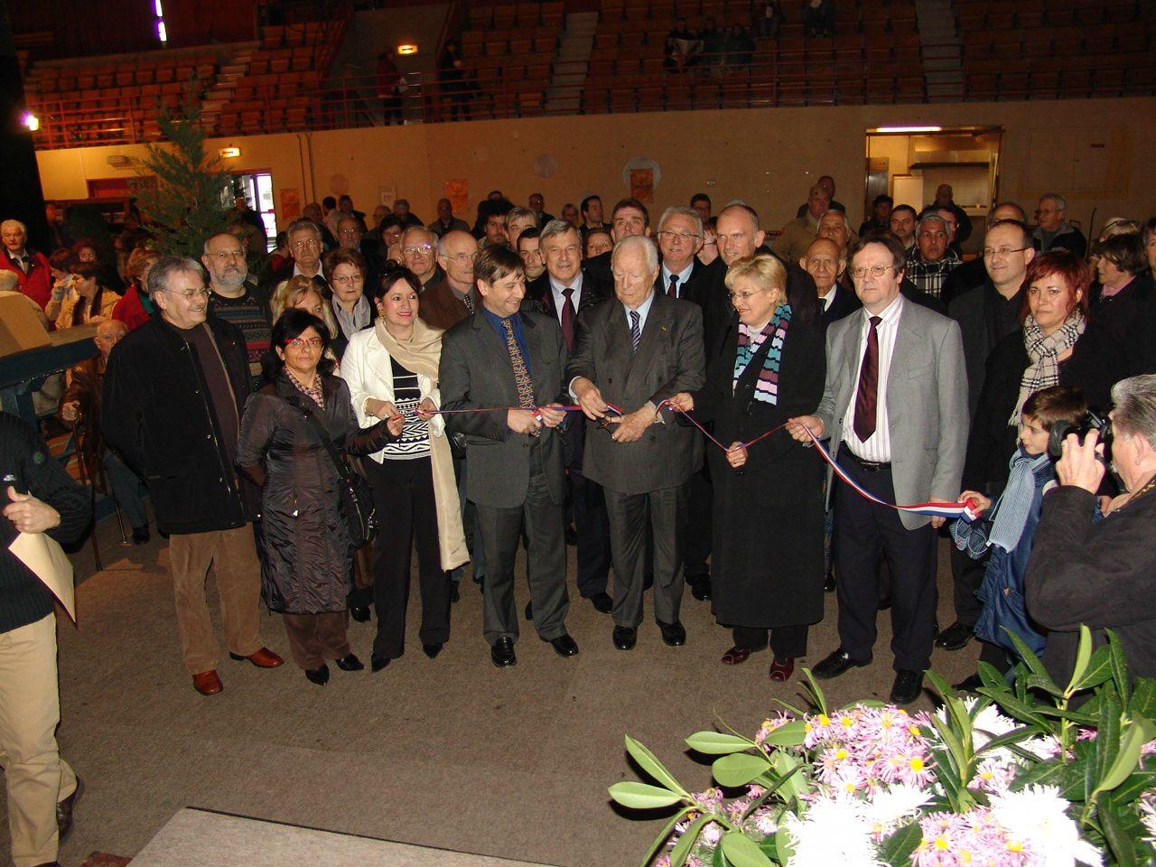 L'inauguration en présence de Pierre Messmer
