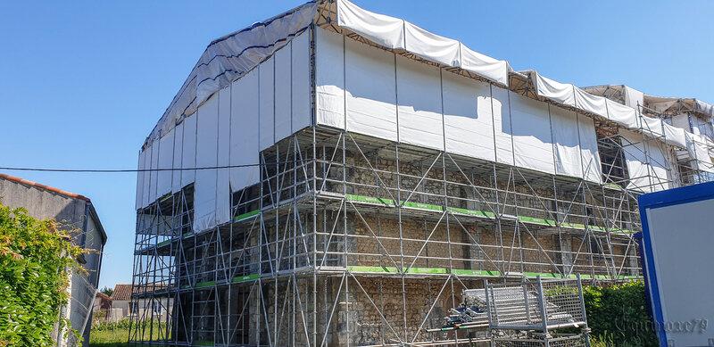Restauration de monuments historiques dans le département de la Vendée, l'église romane Saint-Julien de Pétosse (1)