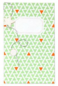 notebook small pocket green 1