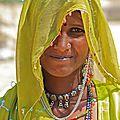 Jeune femme, rajasthan
