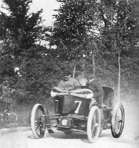 1899 tour de france - 'avis' (bollée 20hp) dnf