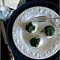 Coquilles saint-jacques rôties au beurre d'ail et persil & pecorino