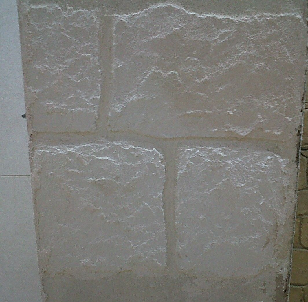 Fausses pierres : atelier chaux