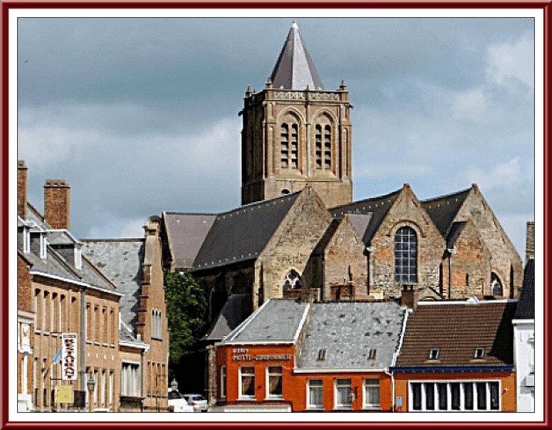 Cassel L'Église Abbatiale
