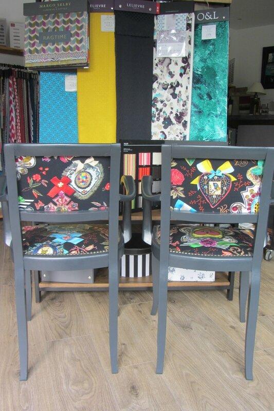 refaire un fauteuil à Brest tapissier d'ameublement