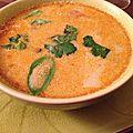 Soupe thaïlandaise crevettes lait de coco